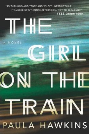 The Girl on The Train - perfect lazy Saturday read!